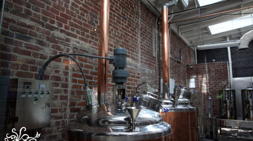 Inside Valley Brew Brewery